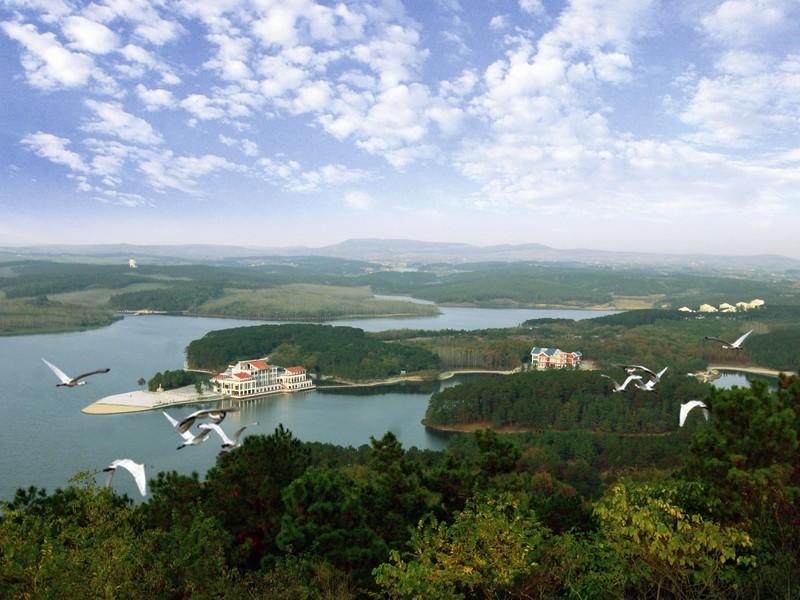滁州白鹭岛温泉票图1